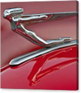 1935 Auburn Hood Ornament 2 Canvas Print