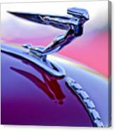 1935 Auburn Hood Ornament 4 Canvas Print