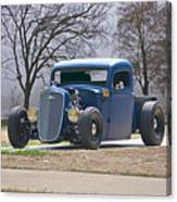 1935 Chevrolet 'hot Rod' Pickup Canvas Print
