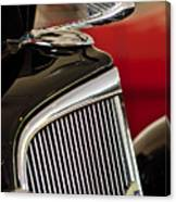 1935 Chevrolet Optional Eagle Hood Ornament Canvas Print