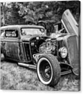 1935 Chevy Sedan Rat Rod Canvas Print