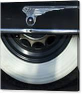 1935 Chrysler Tire Canvas Print