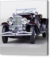 1935 Duesenberg Sj Roadster Canvas Print