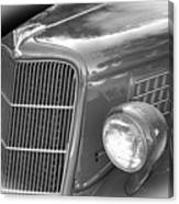 1935 Ford Sedan Grill Canvas Print