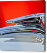 1935 Ford V8 Hood Ornament 3 Canvas Print