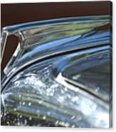 1935 Ford V8 Hood Ornament Canvas Print