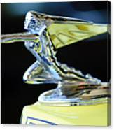 1935 Packard Hood Ornament Canvas Print
