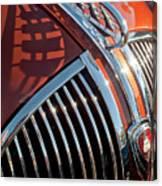1935 Plymouth Hood Ornament Canvas Print