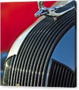 1935 Pontiac Sedan Hood Ornament Canvas Print