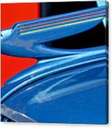 1936 Chevrolet Hood Ornament 2 Canvas Print