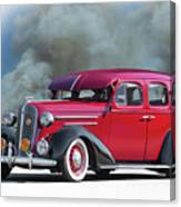 1936 Chevrolet Master Deluxe Sedan Canvas Print