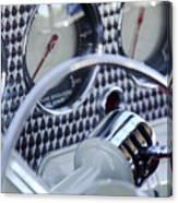 1936 Cord Phaeton Gear Shift Canvas Print