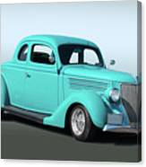 1936 Ford Coupe 1 Canvas Print