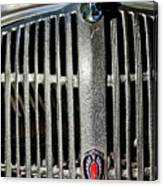 1936 Oldsmobile Grille Canvas Print