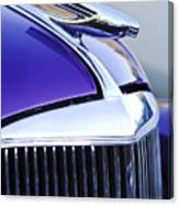 1937 Chevrolet Hood Ornament 2 Canvas Print