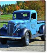 1937 Chevy Truck Canvas Print