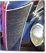 1937 Ford 2 Door Sedan Canvas Print
