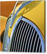 1937 Plymouth Hood Ornament 2 Canvas Print