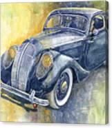 1937 Skoda Popular Sport Monte Carlo Canvas Print