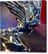 1938 Cadillac V-16 Hood Ornament Canvas Print