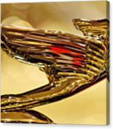 1938 Cadillac V-16 Sedan Hood Ornament 2 Canvas Print