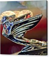 1938 Cadillac V-16 Sedan Hood Ornament Canvas Print