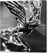 1938 Cadillac V16 Hood Ornament Canvas Print