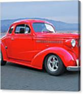 1938 Chevrolet 'all Business. Coupe Canvas Print