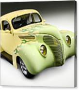 1938 Hot Rod Ford Coupe Canvas Print