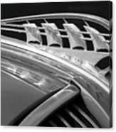 1938 Plymouth Hood Ornament 2 Canvas Print