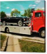 1938 Studebaker Cab Over Canvas Print