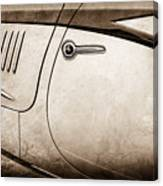 1938 Talbot-lago 150c Ss Figoni And Falaschi Cabriolet Side Door Handle -1511s Canvas Print