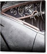 1938 Talbot-lago 150c Ss Figoni And Falaschi Cabriolet Steering Wheel -1561ac Canvas Print