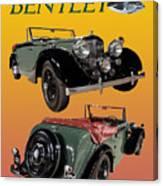 1939 Bentley Drop Head Coupe Canvas Print