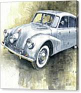 1939 Tatra T87  Canvas Print