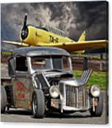 1940 Ford Rat Rod Pickup IIi Canvas Print
