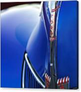 1940 Ford V8 Hood Ornament 3 Canvas Print