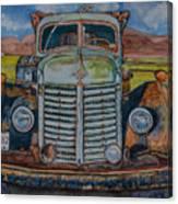 1940 International Harvester Truck Canvas Print