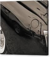 1940 Mercury Convertible Vintage Classic Car Photograph 5218.01 Canvas Print