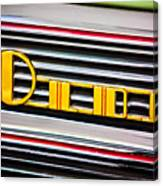 1940 Oldsmobile Emblem Canvas Print