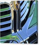 1940's Lincoln Hood Emblem Canvas Print