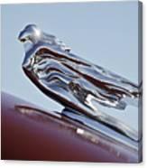 1941 Cadillac Fleetwood 60 Hood Ornament Canvas Print