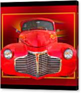 1941 Chevy Custom Canvas Print