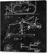 1941 Construction Bulldozer Canvas Print