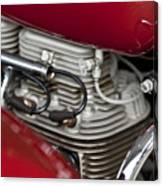 1941 Indian 4 Cyl Motorcycle Canvas Print
