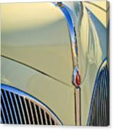 1941 Lincoln Continental Cabriolet V12 Grille Canvas Print