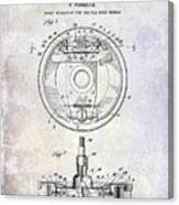 1941 Porsche Brake Mechanism Patent Canvas Print