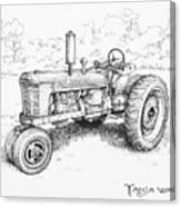1942 Farmall Canvas Print