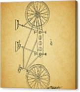 1945 Schwinn Tandem Bicycle Canvas Print