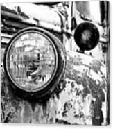 1946 Chevy Work Truck - Headlight Detail Canvas Print